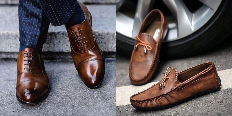 """Foto de zapatos que combinan con look sport elegante o """"smart casual""""."""